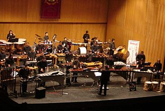 Percujove - Concert at Jovellanos Theatre, Gijón (Spain), April 2006