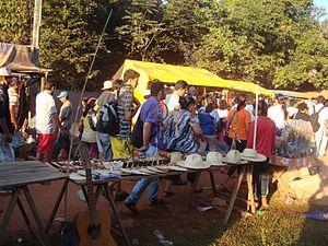 Itapé - Pilgrims in Itapé - Guaira (Paraguay).