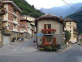 Le village de Perrero - Centre de la commune