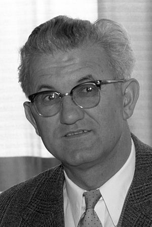 President of the League of Communists of Serbia - Petar Stambolić