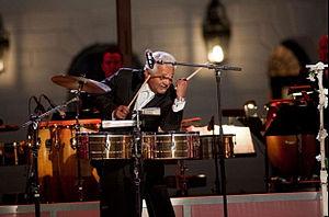 Pete Escovedo - Image: Pete Escovedo White House oct 2009