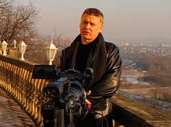 Peter Swirski interviewed for European TV, 2009.