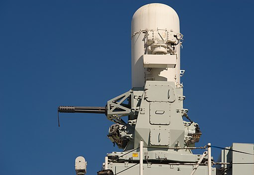 Phalanx CIWS on the HMCS Calgary
