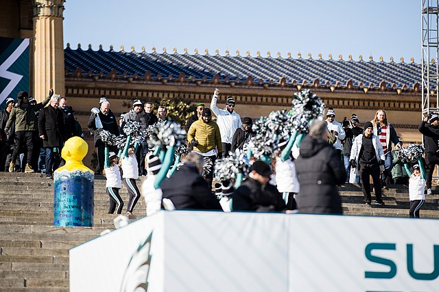 Philadelphia Eagles Super Bowl LII Victory Parade, From WikimediaPhotos