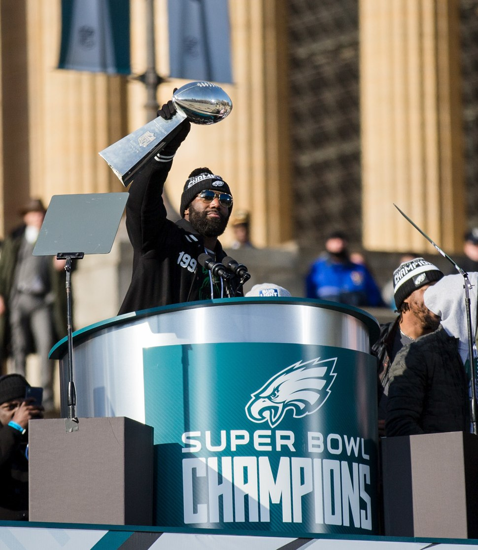 Philadelphia Eagles Super Bowl LII Victory Parade (40140584832) (cropped)