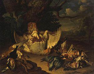 1718 in Russia - Philipp Ferdinand de Hamilton - Dead Game - WGA11200