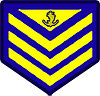 Philippine Coast Guard Petty Officer 3rd Class Rank Insignia