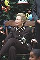 Photograph of First Lady Hillary Rodham Clinton and Socks the Cat- 12-13-1995 (6461521265).jpg