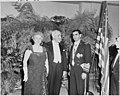 Photograph of the President and Mrs. Truman with the Shah of Iran, in formal attire, during the Shah's visit to the... - NARA - 200150.jpg
