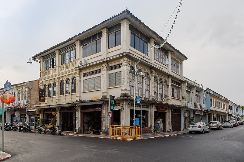 File:Phuket Town Buildings-of-Yaowarat-Road-01.jpg