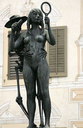 Stans - Death and the Maiden, from the Stans Dorfplatz