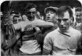 Pierino Bertolazzo vincitore dei campionati del mondo di ciclismo su strada di Zurigo 1929.png