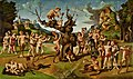 Piero di Cosimo The Discovery of Honey by Bacchus about 1499.jpg