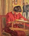 Pierre-Auguste Renoir - Christine Lerolle Embroidering (c. 1895).jpg