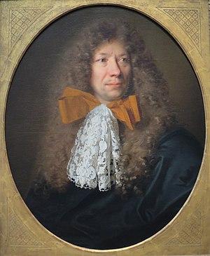 Adam Frans van der Meulen - Portrait by Nicolas de Largillière