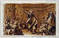 Pietro Candido e altri, monocromi della cappella dei pittori 12.JPG