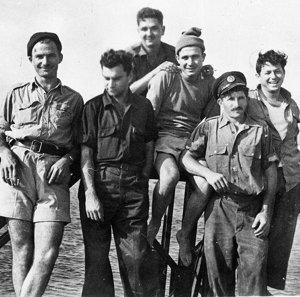 המחנה הראשון של הקומנדו הימי בעתלית
