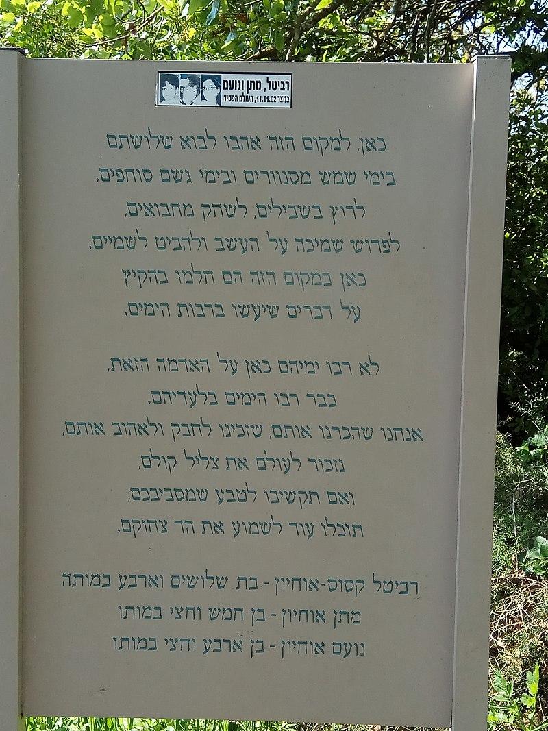 שמורת אלוני יצחק