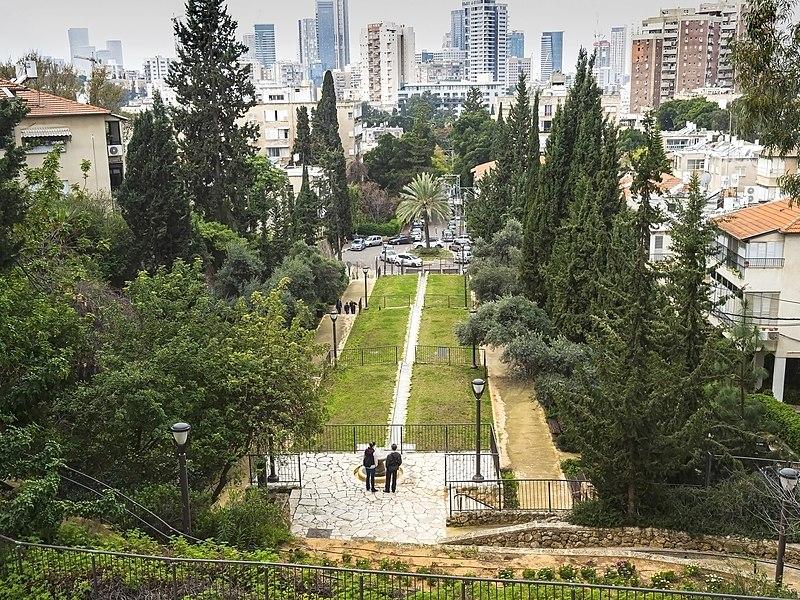 שדרות הגיבורים,גן אברהם,רמת גן