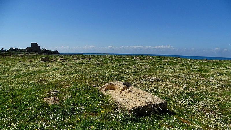 בית הקברות הצלבני בחוף עתלית