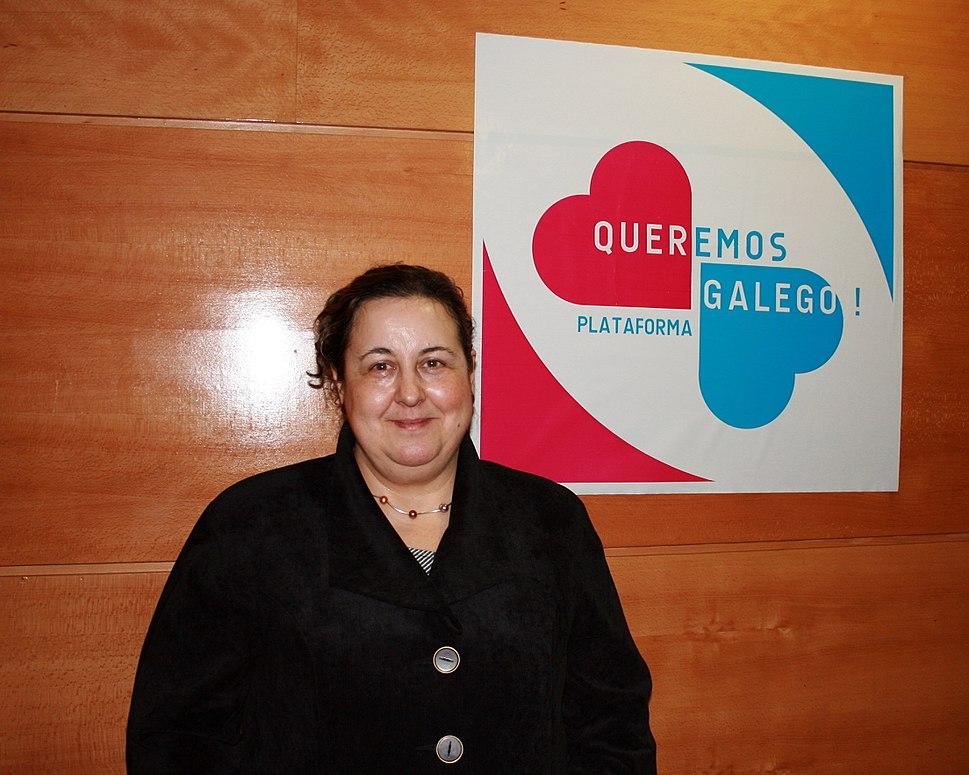 Pilar García Negro e Queremos Galego