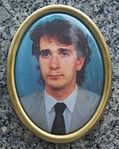 Piotr Milan photo at Milan family grave in Sanok.jpg