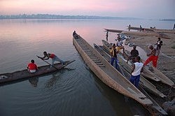 Pirogues on the Congo River -a.jpg