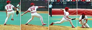 Danny Jackson - Image: Pitching Danny Jackson 1990