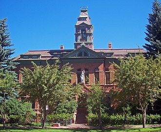 Pitkin County, Colorado - Image: Pitkin County Courthouse 2010