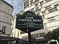 Place Joséphine Baker (Paris) - panneau.JPG
