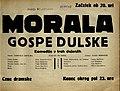 Plakat za predstavo Morala gospe Dulske v Narodnem gledališču v Mariboru 27. oktobra 1929.jpg