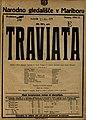 Plakat za predstavo Traviata v Narodnem gledališču v Mariboru 21. marca 1925.jpg