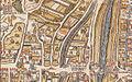 Plan de Paris vers 1550 Gibet de Montfaucon.jpg