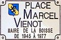 Plaque de la place Marcel Viénot à La Boisse.jpg