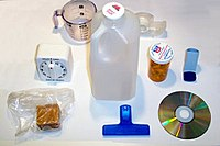 Carbon is the basis for all plastic materials that are used in common household items.