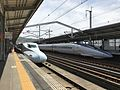 Platform of Shin-Yamaguchi Station (Sanyo Shinkansen).jpg