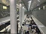 Platform of Tianhe International Airport Station from escalator.jpg