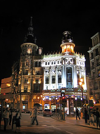 Architecture of Madrid - Canalejas Square