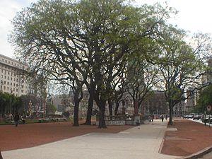 Carlos Thays - Plaza del Congreso, Buenos Aires
