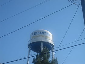 Pleasant Hill, LA, Water Tower IMG 2530.JPG