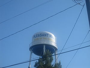 Pleasant Hill, Sabine Parish, Louisiana - Pleasant Hill water tower