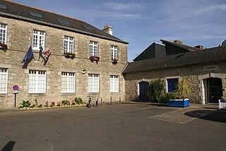 Ploemeur Commune in Brittany, France