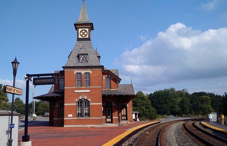 Point of Rocks station