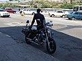 Police motorbike Yamaha Virago Habana 2.JPG