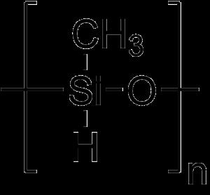 Polymethylhydrosiloxane - Image: Polymethylhydrosilox ane