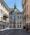 Porrentruy - Rue de 23 juin et Hôtel de ville.jpg