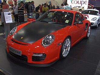 Porsche 911 GT2 - 2010 Porsche 911 GT2 RS at the Australian International Motor Show.