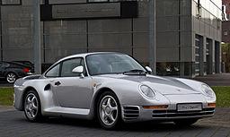 Porsche 959 – Frontansicht (2), 21. März 2013, Düsseldorf