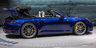 Geneva Motor Show - Porsche 911 Carrera 4S Cabrio