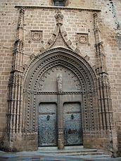 Portada de sant Bertomeu, església de sant Bertomeu, Xàbia.JPG